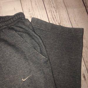 Nike Pants - Nike gray sweatpants straight leg size small